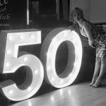 light up giant birthday numbers