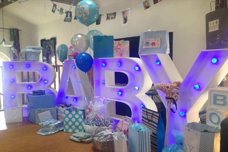 Baby giant Wedding Letters Hire Company