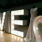 Light Up Letters For Hire Wedding Fare