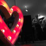 giant illuminated heart hire
